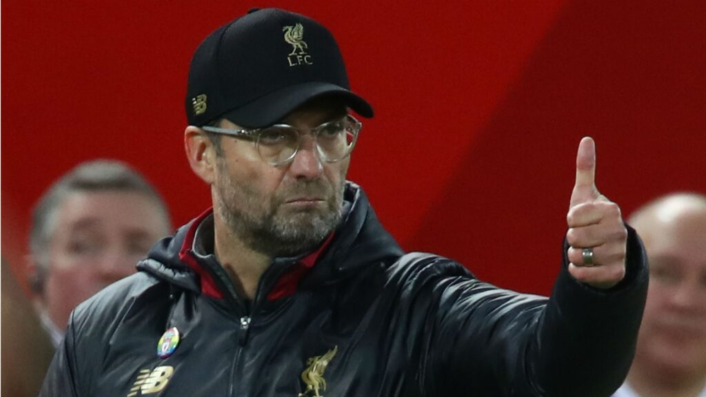 Jurgen Klopp thumbs up